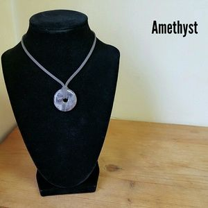 2 for $40 Handmade Amethyst necklace